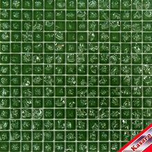 Dark Green Broken Glass Mosaic Tile (KSL-C2505)