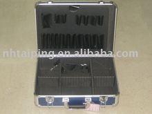 Portable Multi-function Aluminum LED Demo box- High Compatible LED Test Meter Box for Light Bulbs Testing,