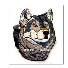 Nakış Aplikler- yüksek yoğunluklu köpek tasarımları kapaklar için/kemerleri/gömlek( yama/amblem/rozeti/etiket/tepe/nişan)