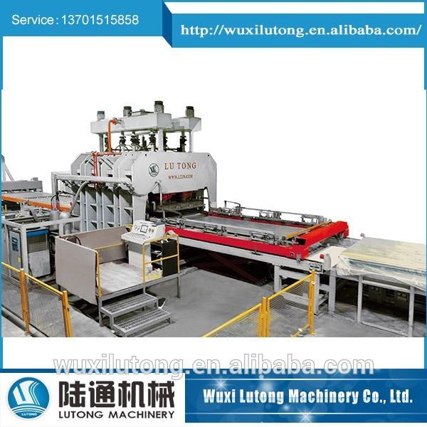 YX 1200 4X8 short cycle hot press line laminate press line