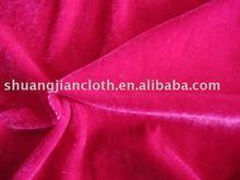 Knitting Spandex Velvet 100% Polyester--four way stretch