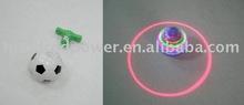 Flashing laser spinning top with music