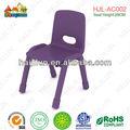 Crianças cadeira escolar de plástico