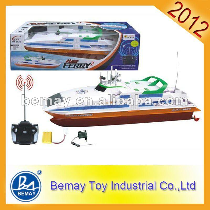 De radio control remoto barco grande de juguete del rc barco (149252)