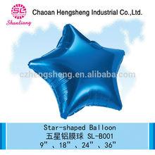 Christmas foil star decoration balloon