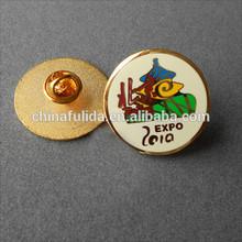 Trendy Badge/Gold Plating Badge/Epoxy