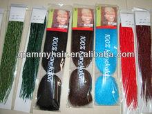 Charming and noble x-pression kanekalon braiding hair