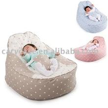 vintage beanbag , bamboo baby beanbag , baby sleeping bed