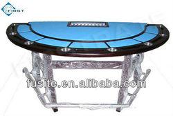 Wooden Deluxe Blackjack Poker Table