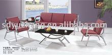 Cheap and reasonable price of the comfortable living room leisure sofa YC-SOFA0010(1+1+3)