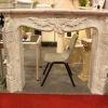 home design sandstone fireplace mantel