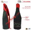 leather wine tote, leather wine carrie, leather wine accessory