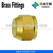 brass pipe fitting, Flare Seal Caps, for refrigeration and air conditioning
