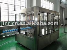 Aerated drink bottling line