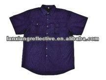 Short sleeves Cotton Drill Shirt LX801-I