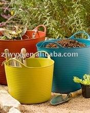 garden tools buckets,plastic water buckets,PE tubs