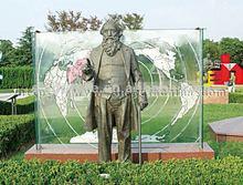 famous figure modern art garden statues