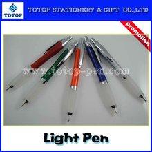 2011 new promotional palstic light pen