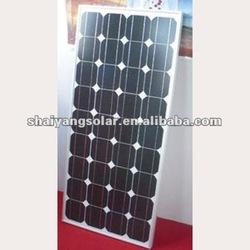 95W Mono-crystalline silicon solar panel/module new energy products