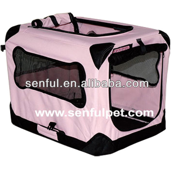 Fabric Dog Kennel Cage