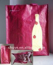 PP Wine Carrier Bag