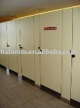 Office building public compact laminate toilet partition changing room cubicle