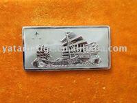 commemorative silver bullion for mascot