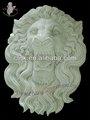 Piedra tallada cabeza de león