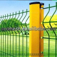 galvanized/ pvc coated metal fencing poles