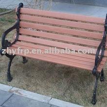 long Fiberglass garden bench