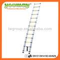 De aluminio escalera de extensión única 3.8m con altura