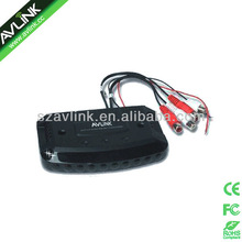 wireless transmitter for TV headset & headphone with RCA cable 3.5mm jack