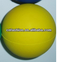 63mm 2014 new Rubber Pet Ball Dog Toy,Eco-friendly pet toys balls