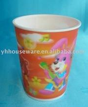 600ml lenticular 3D plastic cup