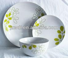 12pcs porcelain tableware dinnerware set, factory directly wholesale