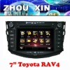 (TOYOTA RAV4) 7 inch two din Car DVD player with GPS,bluetooth