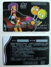 Fashion Girl Membership PVC Card