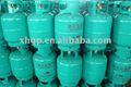 5 kg peso del relleno LPG cilindro