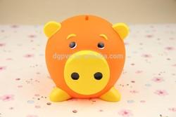 plastic vinyl piggy money box