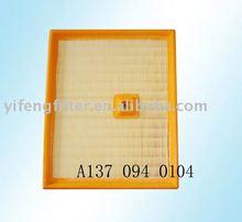 air filter A1370940104 for benz