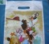 Top seller PE Die cut Patch Handle Plastic Bag