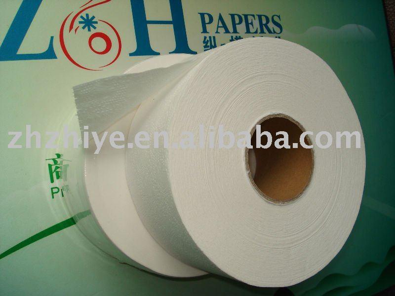 Reciclado jumbo rolo papel higiênico