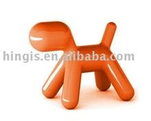 classic fiberglass puppy kids chair A22-1 orange