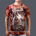 安い卸売20153d綿アニマルプリントのt- シャツ