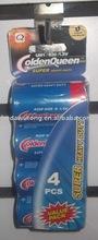 4 pcs D size carbon zinc battery pack