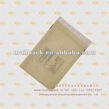 Print Brown Kraft Bubble Bag Packing Envelope