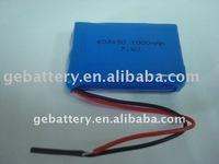 7.4V 1000mAh lithium polymer battery 1000mAh lithium polymer battery