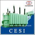 240 transformador de energía MVA en baño de aceite 220KV