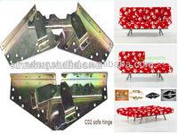 Furniture metal sofa hardware/ adjustable hardware for sofa/iron sofa bed parts hardware C02