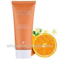 Orange Whitening peel off mask cream